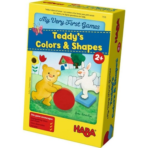 HABA My Very First Games - Teddy's Colors and Shapes (Made in Germany) - image 1 of 4