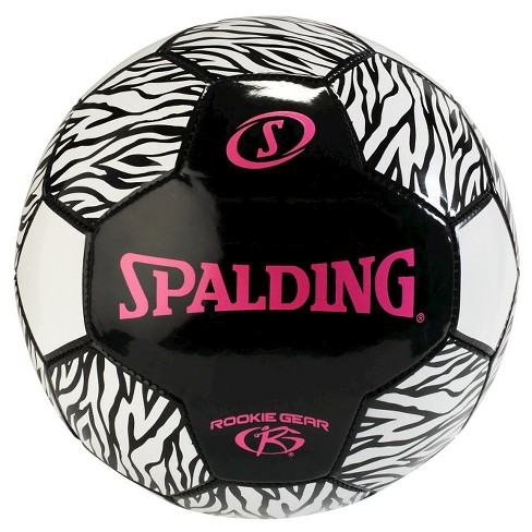 Spalding Rookie Gear Soccer - Pink/Black (size 3) - image 1 of 1