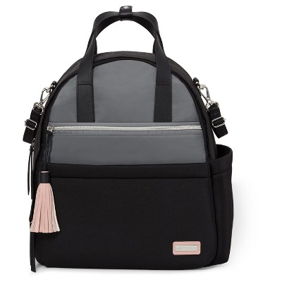 Skip Hop NOLITA Neoprene Diaper Backpack - Black/Gray