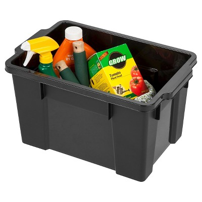 Exceptionnel IRIS 5 Gallon Heavy Duty Storage Tote   4 Pack : Target
