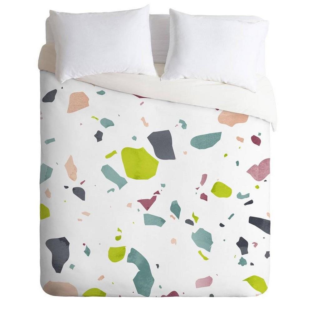 King Mareike Boehmer Comforter & Sham Set Green/White - Deny Designs
