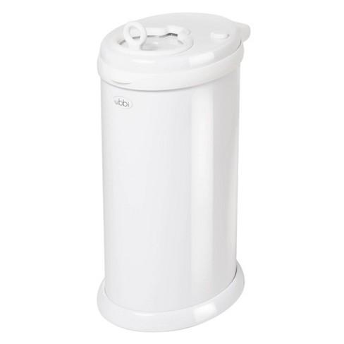Ubbi Steel Diaper Pail - White - image 1 of 4