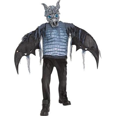 Funworld Ice Dragon Child Costume w/ Light-Up Eyes