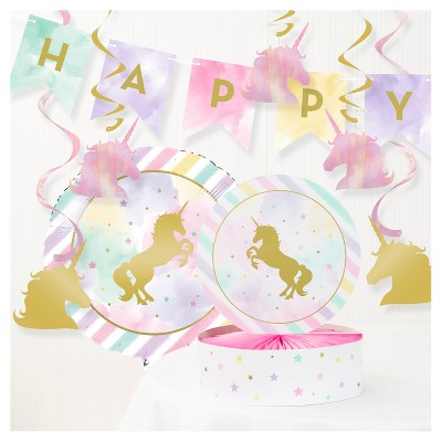 Party Decorating Kit Pink