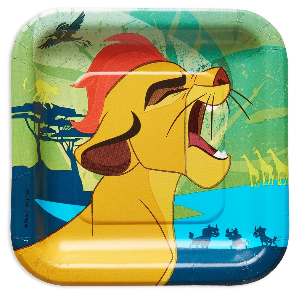 8 ct American Greetings The Lion Guard Disposable Plates