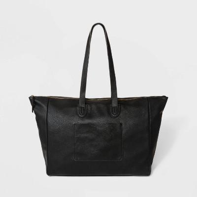 Top Zip Weekender Bag - Universal Thread™ Black