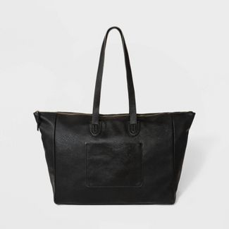 Top Zip Weekender Bag - Universal Thread™ Black