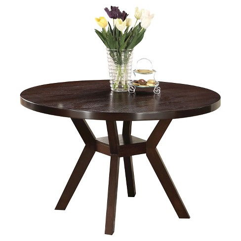 Drake Dining Table Wood/Espresso - Acme - image 1 of 1