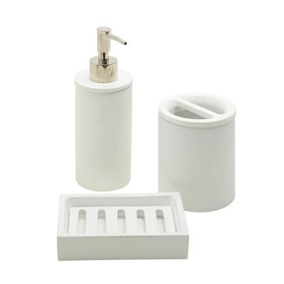 3pc Smart Accessories Bundle White - Zenna Home