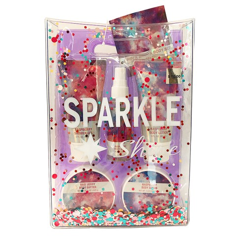 Sparkle And Shine Bath And Body Tween Gift Set 6pc Target Beauty