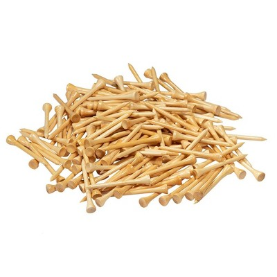 Juvale 300 Pack Bamboo Wood Golf Tees, 2.75 in