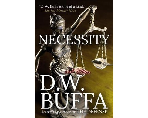 Necessity -  by Dudley W. Buffa (Hardcover) - image 1 of 1