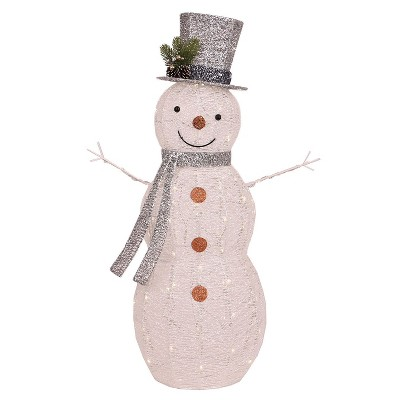 Philips® 42  Christmas LED Lit Twinkling Glitter String Snowman - Pure White