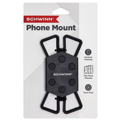 Schwinn Basic Smartphone Bike Mount - Black