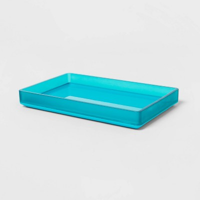 Bathroom Tray Aqua - Room Essentials™
