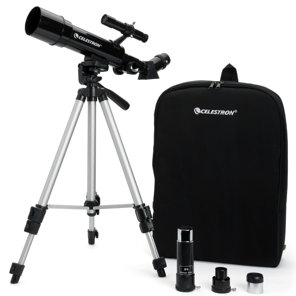 Image of Celestron Travel Scope with Backpack - Black 50mm