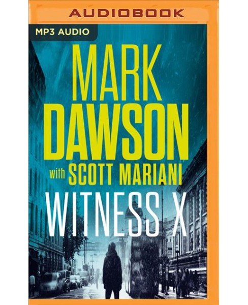 Witness X -  (Group Fifteen Files) by Mark Dawson (MP3-CD) - image 1 of 1
