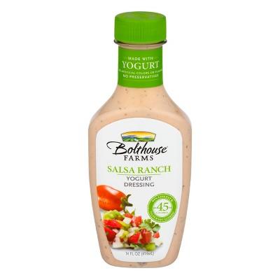Bolthouse Farms Salsa Ranch Yogurt Dressing - 14oz