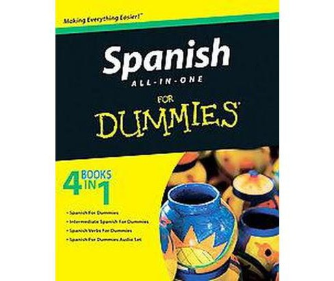 Spanish All-in-One for Dummies (Original) (Paperback) (Cecie Kraynak) - image 1 of 1
