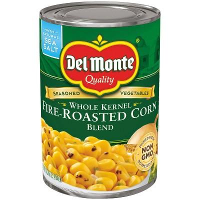 Del Monte Whole Kernel Fire-Roasted Corn Blend 14.5oz