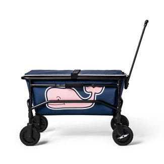 Pink Whale Collapsible Wagon - Navy - vineyard vines® for Target