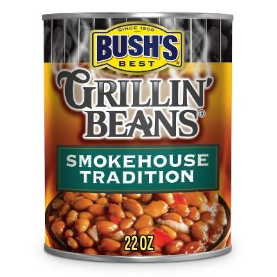 Bush's Gluten Free Smokehouse Tradition Grillin' Beans - 22oz