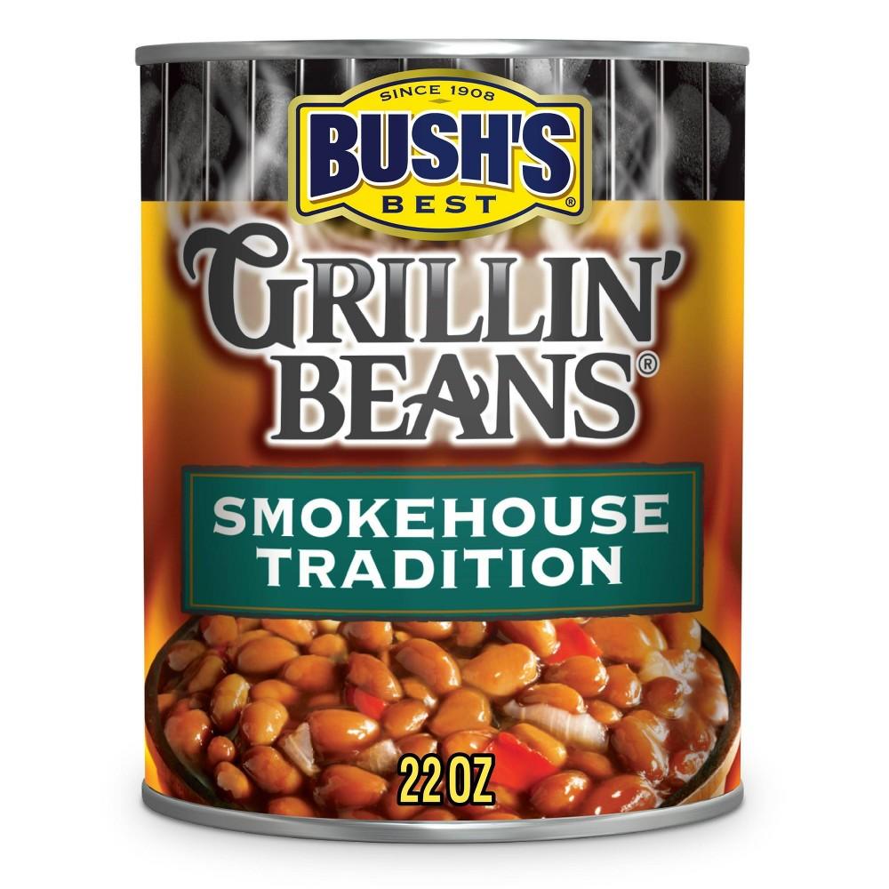Bush 39 S Smokehouse Tradition Grillin 39 Beans 22oz
