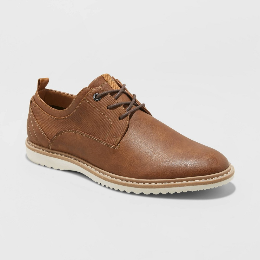 Image of Men's Andres Oxford Shoes - Goodfellow & Co Brown 10.5, Men's