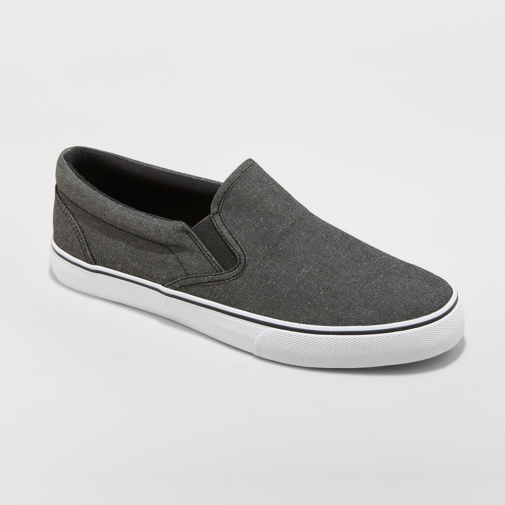 Men's Phillip Sneakers - Goodfellow & Co Charcoal 11, Gray