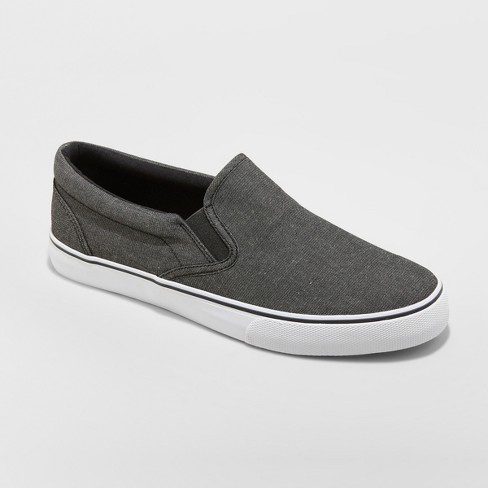 Men's Phillip Sneakers - Goodfellow & Co™ Charcoal - image 1 of 3