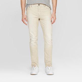 Men's Slim Fit Jeans - Goodfellow & Co™ Khaki 34x30