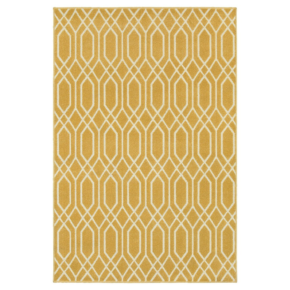 Image of 10'X13' Shapes Area Rug Gold