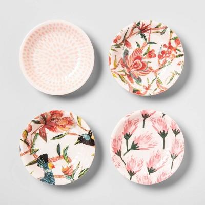 .2oz 4pk Melamine Dip Bowls Pink - Opalhouse™