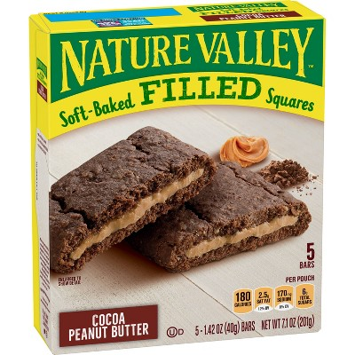 Granola & Protein Bars: Nature Valley Soft Baked Filled Squares