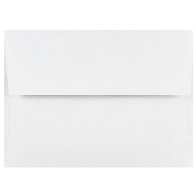 JAM Paper A6 Invitation Envelopes 4.75 x 6.5 White 31820I