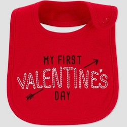 Baby My First Bib - Just One You® made by carter's Red