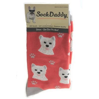 Gift Westie Design Unisex Short Socks  by Dog Lover Socks