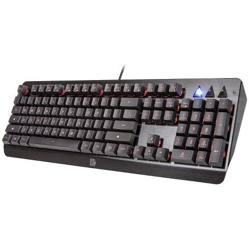 Thermaltake Tt Esports Challenger Edge Membrane Gaming Keyboard Target