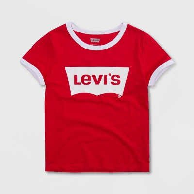 Levi's® Girls' Oversized Batwing Short Sleeve Graphic T-Shirt