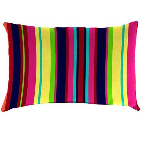 Weather Resistant Outdoor Lumbar Pillow 19 X 12 X 5 Plow