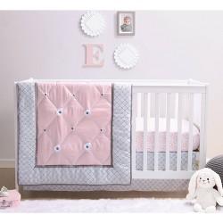 PS by The Peanutshell Princess Crib Bedding Set - 3pc
