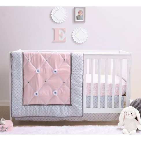 The Peanutshell Princess Crib Bedding, The Peanut Shell Bella 6 Piece Crib Bedding Set