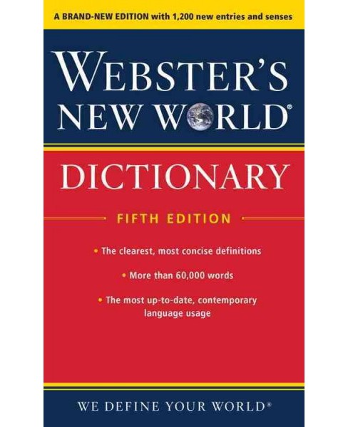 Webster's New World Dictionary (Paperback) - image 1 of 1