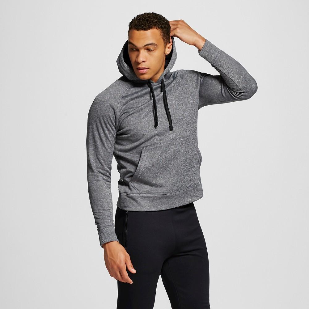 Men's Tech Fleece Pullover Hoodie - C9 Champion Dark Gray S, Charcoal Heather