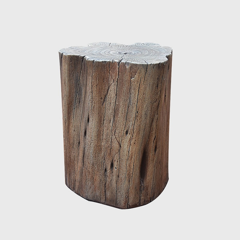 Image of Manchester & Warren Fiberglass Seat - Wood - Elementi, Brown