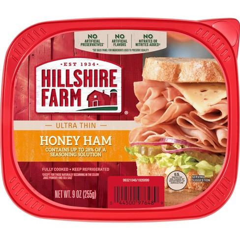 Hillshire Farms Ultra Thin Deli Select Honey Ham - 9oz - image 1 of 4