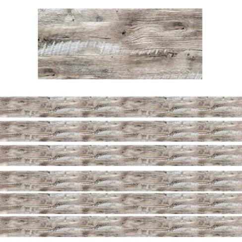 6pk 35ft Rustic Wood Classroom Borders - Creative Teaching Press - image 1 of 2