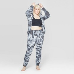 e0e868cff645d1 Women's Plus Size Side Stripe Leggings Pajama Pants - Colsie™ Gray ...