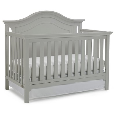Ti Amo Standard Full-sized Crib Lt Gray