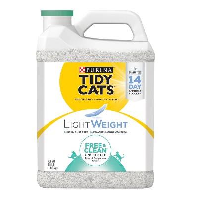 Tidy Cats Free & Clean Unscented Lightweight Cat Litter